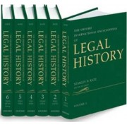Oxford International Encyclopedia of Legal History by Stanley N. Katz