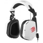 Mad Catz F.R.E.Q. 3-WHITE :: Геймърски стерео слушалки за PC, Mac и Smart у-ва