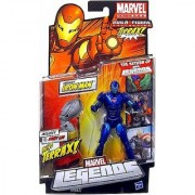Extremis Iron Man Blue Marvel Legends Build a Figure Series 1 Action Figure by Hasbro