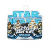 Star Wars 2009 Galactic Heroes 2-Pack Obi-Wan Kenobi and Clone Commander Cody