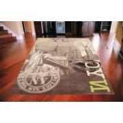 Koberec New York Empire choco lime city Rozměr koberce 185x270cm