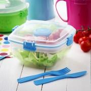 Sistema Pojemnik na lunch plastikowy SISTEMA LUNCH BOX TO GO SALAD MIX 1,1 l - rabat 10 zł na pierwsze zakupy!