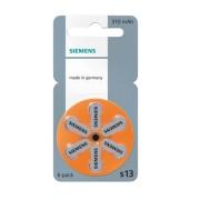 Baterii auditive zinc-aer Siemens S 13