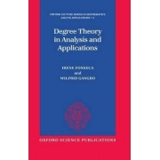 Degree Theory in Analysis and Applications by Irene Fonesca