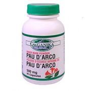 PAU D'ARCO 500mg/90 caps - Anti Cancerigen, Anti Fungic, Antiviral, Antibacterian