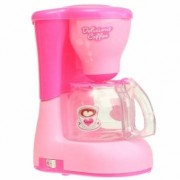 Plastic Simulation Home Kitchen Appliances Mini Coffee Maker Toys For Kids Gift