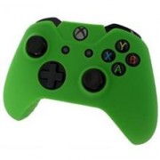 Pro Soft Silicone Protective Cover With Ribbed Handle Grip Green Xbox One