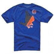 Alpinestars Koszulka Alpinestars Hawk - męska niebieska