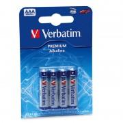 BATERIE VERBATIM AAA ALKALINE 4PK (49920)