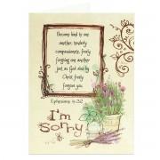 I'm Sorry! - Ephesians 4:32 - (Biblical Greeting Card)