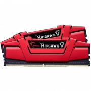 Memorie GSKill RipjawsV Red 8GB DDR4 3000 MHz CL15 Dual Channel Kit