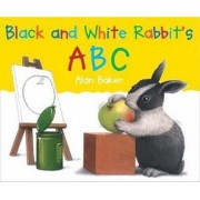 Black and White Rabbits ABC by Alan Baker