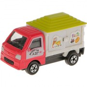 Magideal Cute Model Ice Cream Car Educational Toy Kids Gift-Red