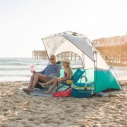 Lightspeed Quick Shelter Tent With Clip-Up Porch Sun Protector Camping