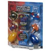 Mega Bloks Dragons Universe - 5 Dragon Battle Pack Assortment - Battle Cards, Swarm Dragons & Eggs