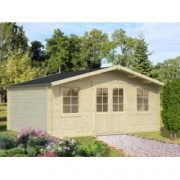 Cabaña de madera Britta 2 446x446 cm. para Jardín