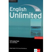 English Unlimited A2 - Elementary. Self-study Pack with DVD-ROM