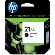 Cartucho Original de Tinta HP 21XL-Negro