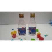Mini garrafa personalizada - Plástico