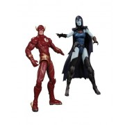 DC Collectibles Injustice The Flash vs. Raven Action Figure (2-Pack) by DC Collectibles