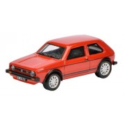Modellino Auto VW Golf Mk1 GTi - Rosso ( Nero Stripping )