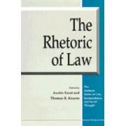Rhetoric of Law by Austin Sarat