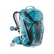 Mochila Deuter Attack Tour 28 Petrol Black