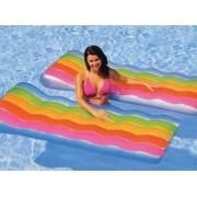 Intex Inflatable Colour Splash Lounger - Integrated Contoured Pillow