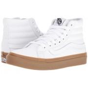 Vans SK8-Hi Slim (Light Gum) True White