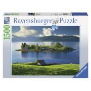 Ravensburger puzzle italia multicolora, 500 piese