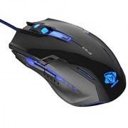 E-Blue Auroza Type-G 3000 DPI Optical LED Gaming Mouse (EMS607BK)