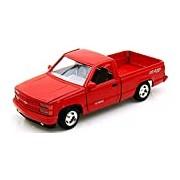 "Motormax GOTZMM73203RD 1:24 Scale Red ""Chevrolet 454 SS Pick up Truck"" Die Cast Model Car"