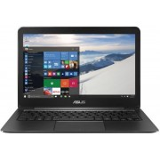 "Ultrabook™ ASUS ZenBook UX305UA-FC001T (Procesor Intel® Core™ i5-6200U (3M Cache, up to 2.80 GHz), Skylake, 13.3""FHD, 8GB, 256GB SSD, Intel® HD Graphics 520, Wireless AC, Windows 10, Negru) + Geanta Laptop RivaCase 8820 Grey 13.3"" (Gri)"