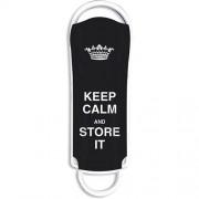 Stick USB 16GB USB 2.0 Xpression Keep Calm Negru Integral