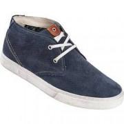 Tom Ramsey Ledersneakers, hoch