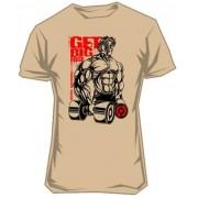 Scitec Collection Tričko Get Big Fast 2 krémové