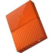 Hard disk extern Western Digital My Passport New 2TB 2.5 inch USB 3.0 Orange