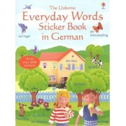 Everyday Words Sticker Book in German by Felicity Brooks