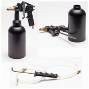 TBS 222 - Recipiente con pistola a presión para líquidos, color negro