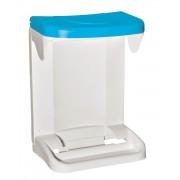 Meliconi Ecologica ajtóra szerelhető szemetes 20 literes kék - 141084
