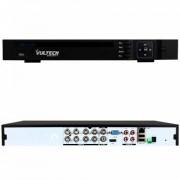 DVR 8 CANALI IBRIDO ANALOGICO AHD VULTECH CM-1080AHD8P HDMI P2P CLOUD 2 SLOT HD RS485 ALLARME 1080P