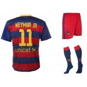 Barcelona Voetbaltenue Neymar Thuis 2015-2016