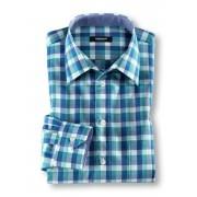 Walbusch Extraglatt-Freizeithemd Blau 39/40