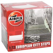 AIRFIX Kit Ready Built Unoain.Resin Build. European City Steps A75017