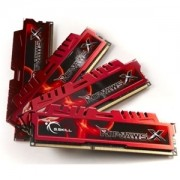 Memorie G.Skill RipJawsX 32GB (4x8GB) DDR3 PC3-14900 CL10 1.5V 1866MHz Intel Z97 Ready Dual/Quad Channel Kit, F3-1866C10Q-32GXL