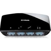 Hub USB 3.0 D-Link DUB-1340 4 porturi