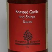 Roasted Garlic and Shiraz Sauce