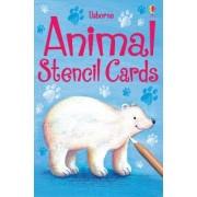 Animals Stencil Cards