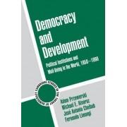 Democracy and Development by Adam Przeworski