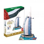 CUBIC FUN MC101h - 3D Puzzle Burj Al-Arab - Dubai- Emirati Arabi - UEA